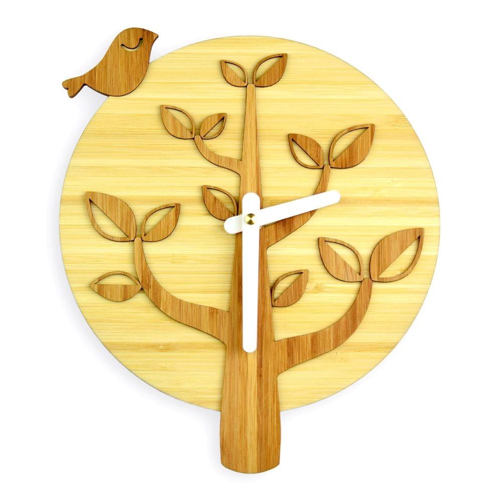Bird on the Tree Wall Clock – Lumiboo
